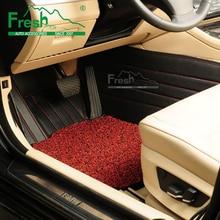 Fresh Customized car floor mats for AUDI Q5 2010 Q7 TOYOTA VOLVO BENZ PORSCHE VOLKSWAGEN LAND ROVER HONDA foot