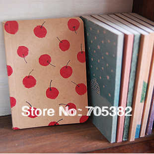 1pc/lot Size:B7(12.5*9cm) Lovely pocket small Notebook Kawaii Notepad Daily book School notebooks stationery supplies (SS-5489)