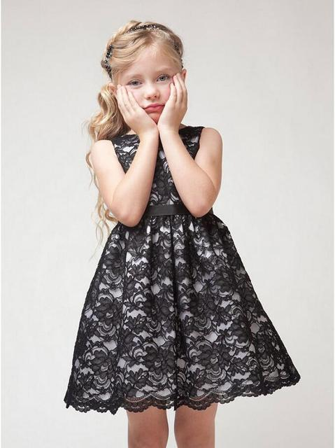 2016 Children S Clothing Lace Dress Rustic Flower Dresses European And American Styles Sleeveless