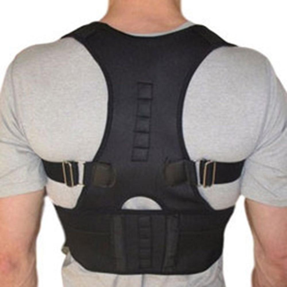 Desgaste da Coluna Ajustável Magnetic Postura Ombro Suporte