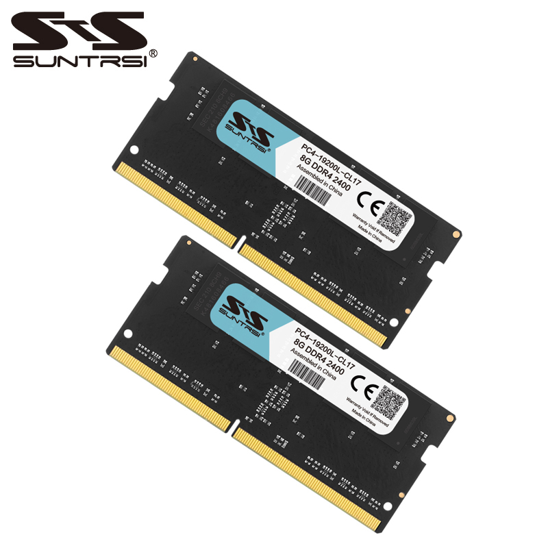 Suntrsi Sealed DDR4 8GB Memoria RAM 2133MHz 2400MHz Laptop Memory DDR High Compatible hj 1156 4 cree xp e leds high power 1900lm 20w white light car side turn lamp with glass cover 12 24v