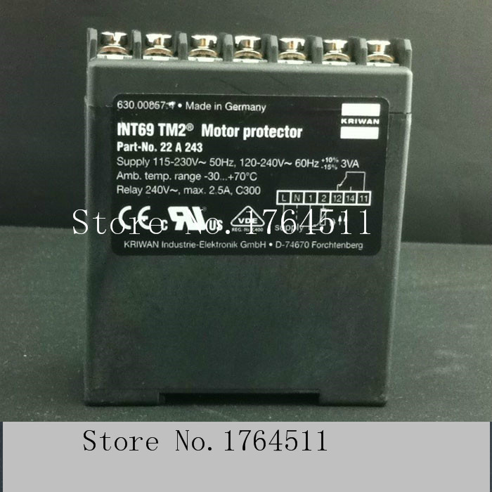 [BELLA] [New Original] Germany KRIWAN INT69TM2 22A243 compressor motor motor protector distributor in China[BELLA] [New Original] Germany KRIWAN INT69TM2 22A243 compressor motor motor protector distributor in China