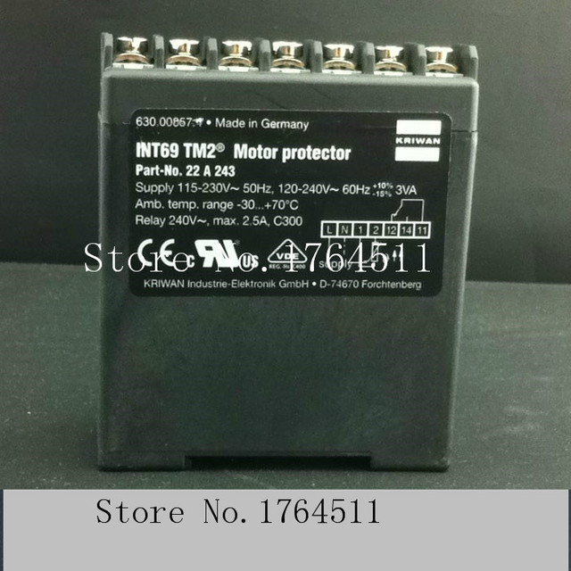 US $219 13 19% OFF|[BELLA] [New Original] Germany KRIWAN INT69TM2 22A243  compressor motor motor protector distributor in China-in Integrated  Circuits