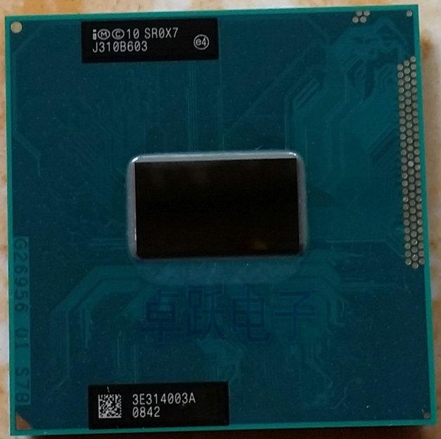 Original intel Core i5 3380M 2,9 GHz 3M Dual Core SR0X7 I5 3380M Notebook prozessoren Laptop CPU PGA 988 pin Buchse G2 prozessor