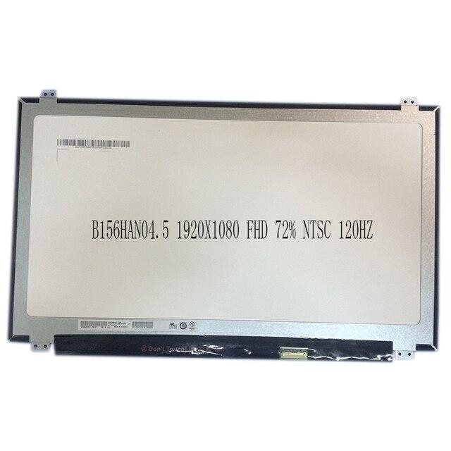"""15,6 """"светодиодный ЖК-дисплей Экран точный auo-восстановление B156HAN04.5 1920X1080 FHD 72% NTSC 120 Гц eDP 30PIN"""