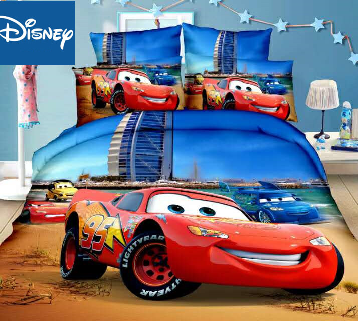 Lightning Mcqueen Cars Cheaper Bedding Set Single Size Children S Bedroom Decoration Twin Flat Sheet Quilt Covers 3pcs Promotion Bedding Sets Aliexpress