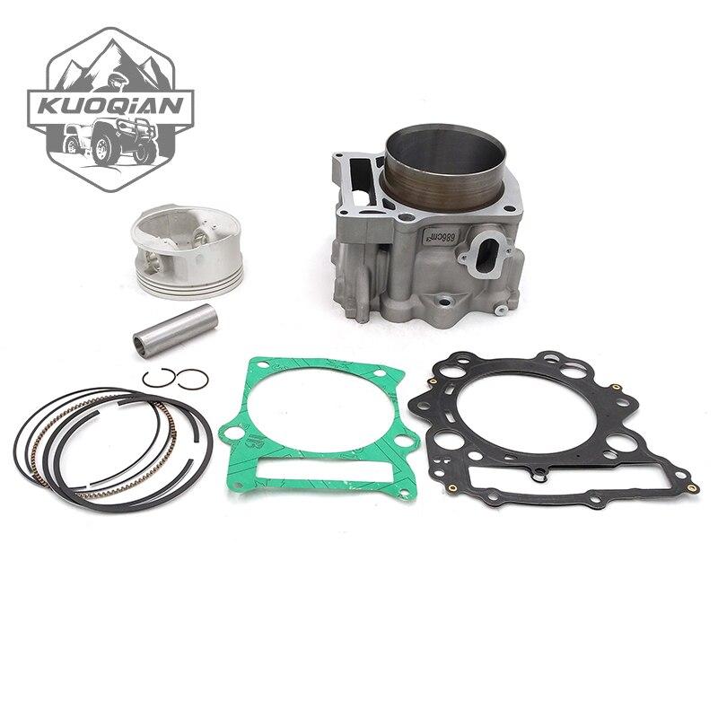 KUOQIAN HISUN Parts HS700cc HS 700 Cylinder Assy Piston Kit Rings For Hisun 700cc HS700 ATV