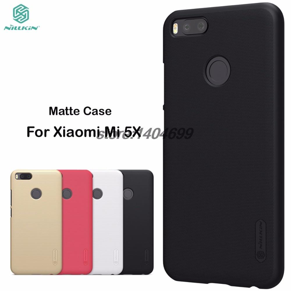 Caso Mi Xiaomi Mi A1 A1 Caso Nillkin Frosted Copertura Opaca Mi 5X scudo Posteriore Dura Per Xiaomi MiA1/Mi 5X/Mi5X Regalo pellicola