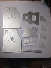 3d printer OX CNC machine CNC cut Aluminium Gantry plates angle joint plate back X axis/front plate 4-Wheel X Spacer Nema 17