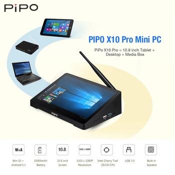 Pipo X10 Pro Mini Pc 108 Windows 10android 51 Intel Cherry