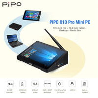 Pipo X10 Pro Mini PC 10,8 ''Windows 10/Android 5,1 Intel Cherry Trail Z8350 1920x1280 4G/2G ram 64G/32G rom WiFi BT планшетный ПК