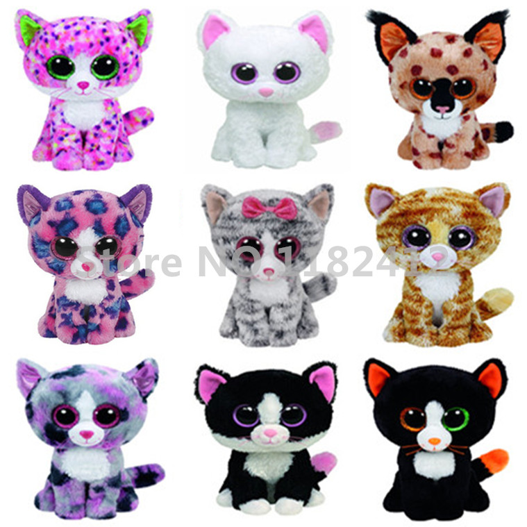 Ty Beanie Boos Cat Plush Toy Muffin Cashmere Sophie Pepper