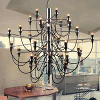 Lustres modernes éclairage à la maison lampe d'intérieur lustres de para cristal sala de janta lustre pour salle à manger salon chambre