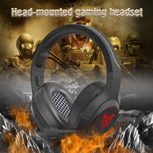 ONIKUMA K9 Gaming Headphones for Computer PC Games Wired Earphone Led HD Bass USB Gaming Headset for K9 Xbox one with microphone(China)