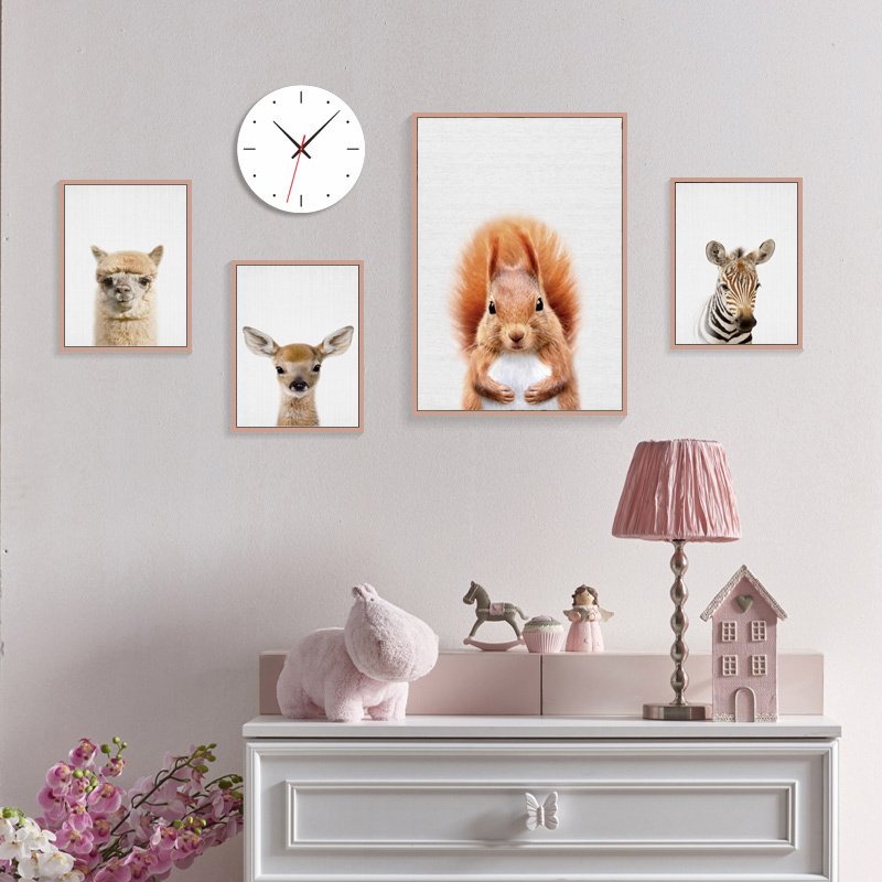 Us 2 84 48 Off Bunny Nursery Wall Picture Kawaii Animals Rabbit Art Prints Poster Canvas Painting Kids Room Decor No Frame Ly0005 In