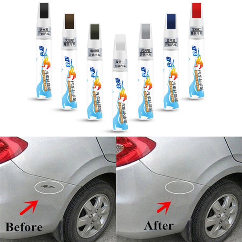 Image 4 - Pro Mending Car Remover Scratch Repair Paint Pen Clear Painting Pens For Nissan Chevrolet Hyundai Toyota-in Painting Pens from Automobiles & Motorcycles