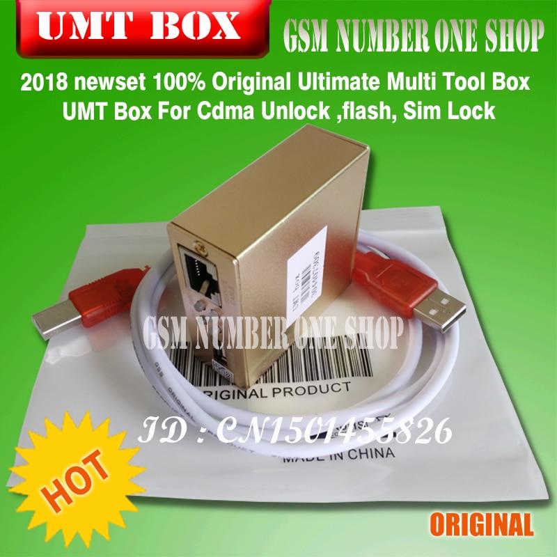 100% Originele Ultimate Multi Tool Box UMT Doos Voor Cdma Ontgrendelen, flash, Sim Lock - 3