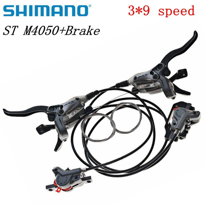 SHIMANO ALIVIO ST M4050 Integral hydraulic disc brakes 27s