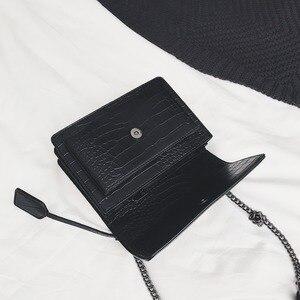 Image 3 - 2019 luxe célèbre marque femmes sacs concepteur dame classique Plaid épaule bandoulière sacs en cuir femmes sacs à main de messager