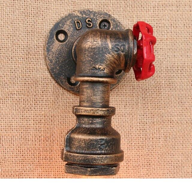 Industrieel IJzeren Brandweer Wandlamp 5