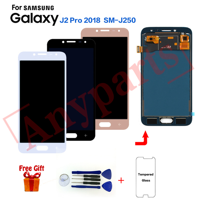 For Samsung J2 Pro SM-J250F Display LCD Screen Assembly for samsung J2 2018 SM-J250FZ Grand Prime Pro LCD Display screen module