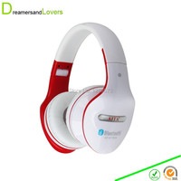 Wireless Bluetooth Stereo Headset Headphone With Mic Support FM TF Card For IPhone 6 IPhone 6