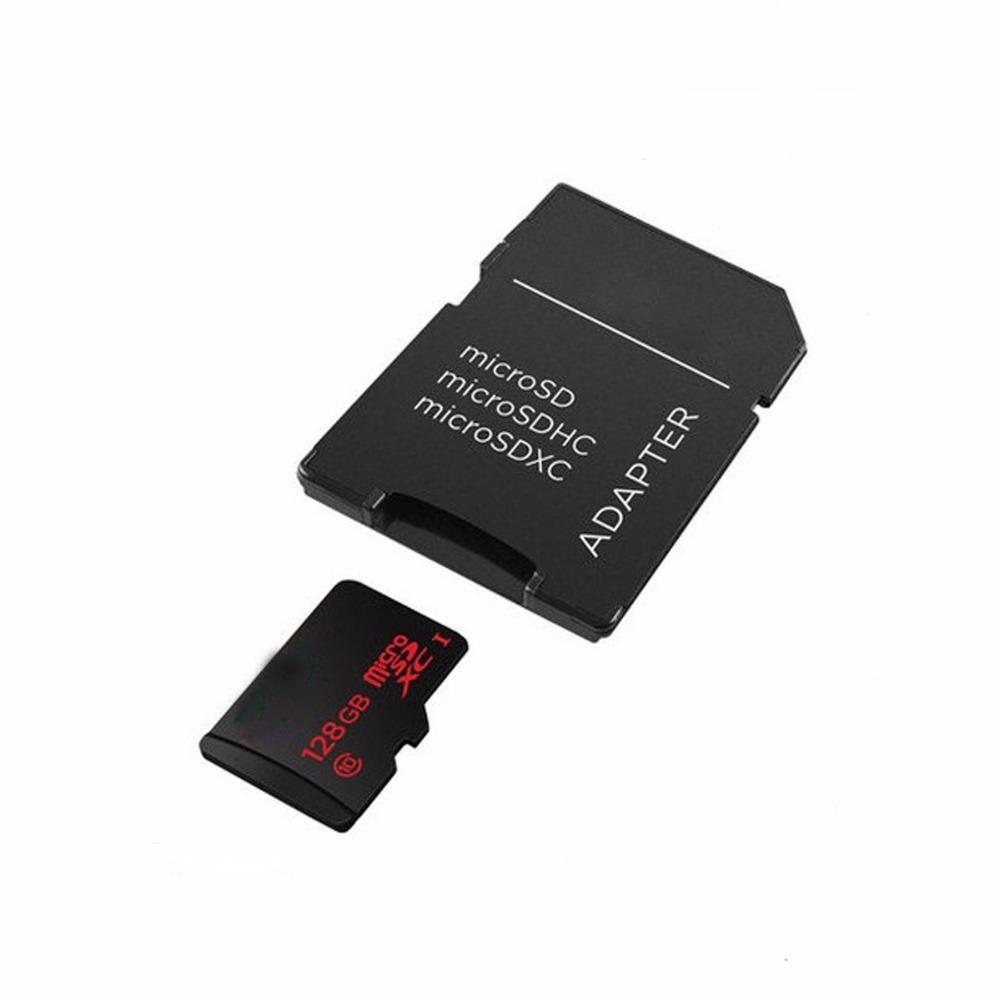 Prix pour 100 pcs Lecteur de Carte Mémoire TF microSD à SD CARTE adaptateur micro sd TransFlash TF carte mémoire adaptateur Gros livraison shippping