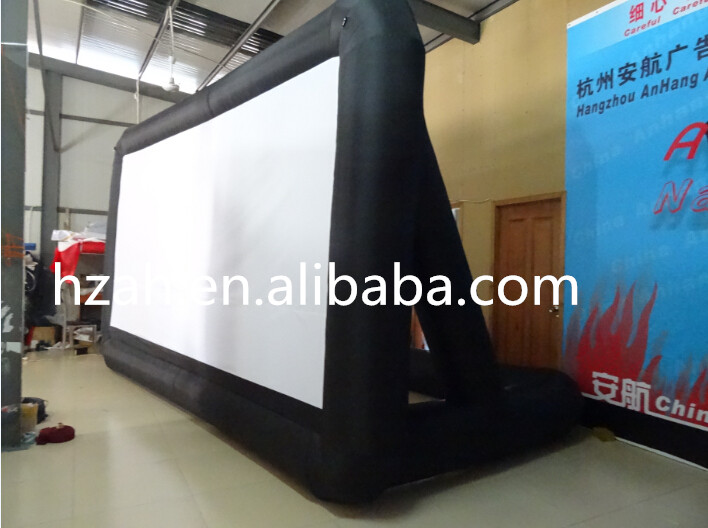 New Design Inflatable TV Screen/ Advertising Inflatable Movie Screen,