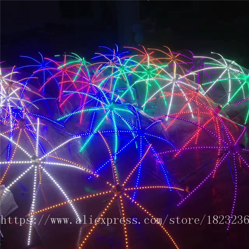 2019 Новый высокое качество Цвет лазерные перчатки Хэллоуин бар, ночной клуб Stage Show светящиеся очки перчатки реквизит вечерние Одежда для тан... - 4