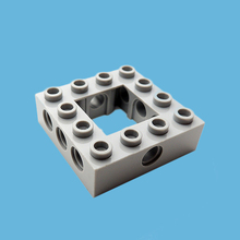 5Pcs/lot Technic Series MOC Brick Parts Beam Frame Square Building Blocks Construction Toy Compatible with 32324 Particles