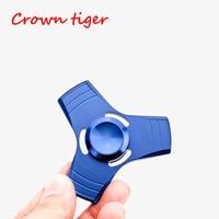 Tri Spinner Fidget Toy EDC Sensory Stress Relief Hand Spinner Metal Fidget Spinner UFO ADHD Autism