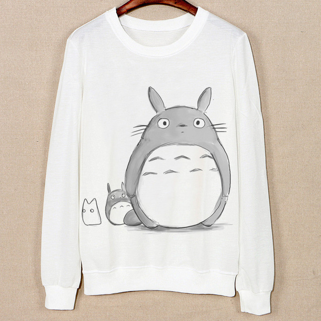 9cf33705 totoro womens hoodies pullover hoodies Cotton women winter clothing kawaii  totoro womens hoodies pullover 50%. Mouse over to ...