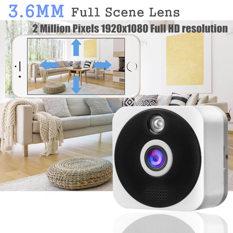 3.6MM HD 1080P IP Camera Surveillance Home Security Wireless wifi Camera with Night Vision Indoor Hidden Mini CCTV Cameras DVR3.6MM HD 1080P IP Camera Surveillance Home Security Wireless wifi Camera with Night Vision Indoor Hidden Mini CCTV Cameras DVR