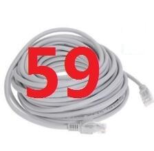 59 # laoke 2018 кабель высокого Скорость 1000 м RJ45 CAT6 сети Ethernet плоский кабель LAN UTP Патч-маршрутизатор Кабели