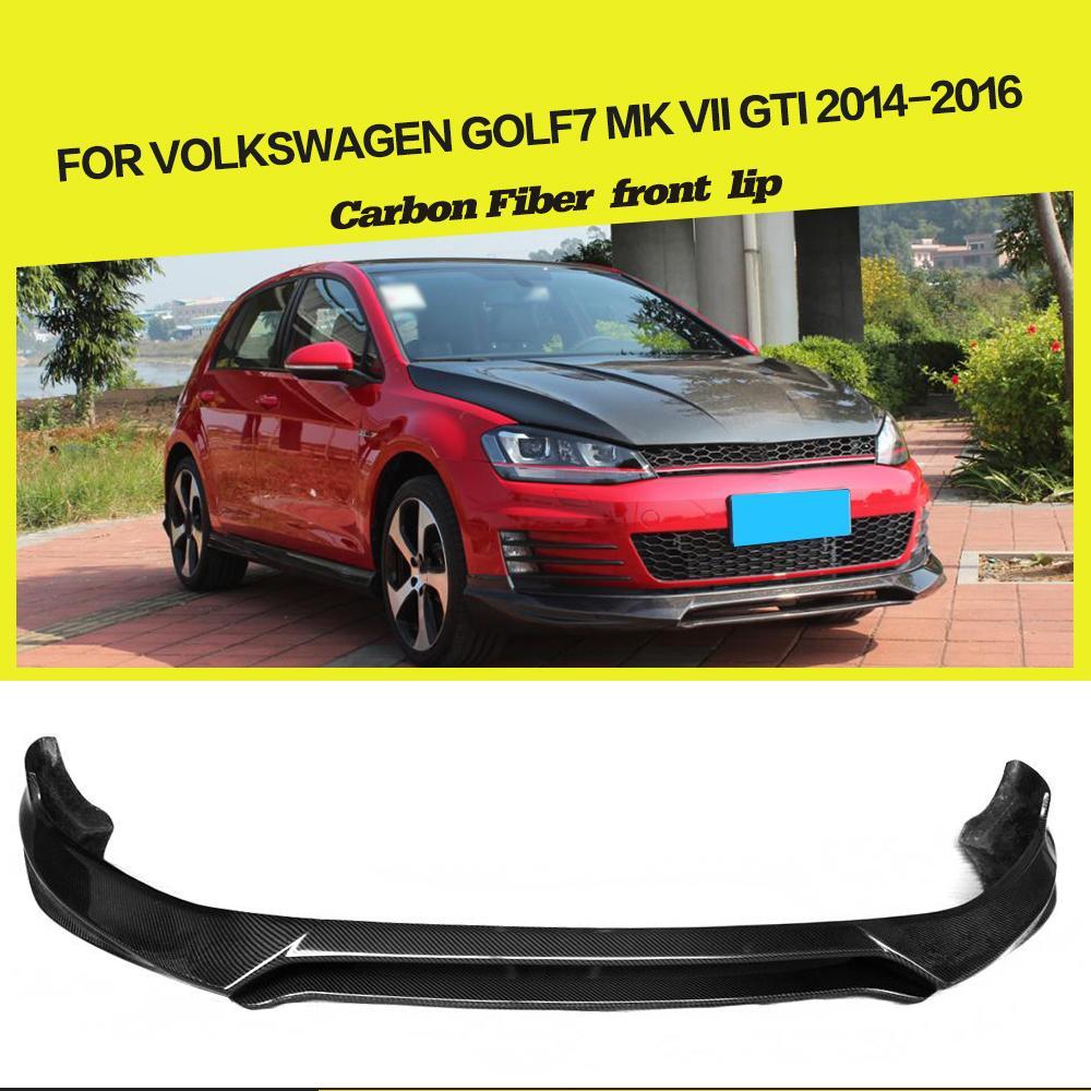 car styling o sytle carbon fiber front lip splitter for vw. Black Bedroom Furniture Sets. Home Design Ideas