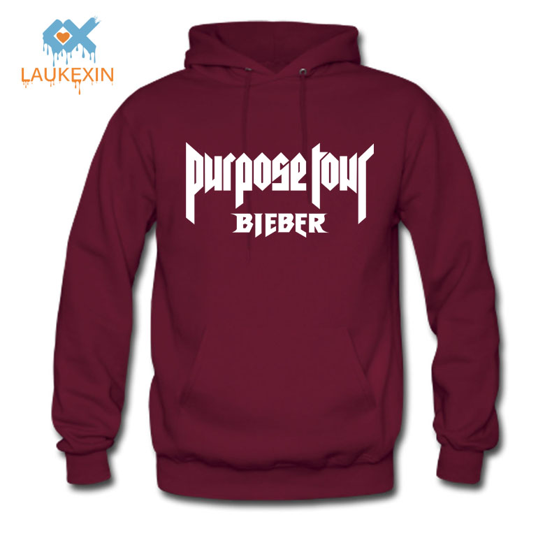 Justin Bieber Fear Of God Purpose Tour Men Woman Hoody Hoodie 2016 Autumn Winter New Long