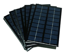 10 pcs Mini 9V 3W Solar Panel Polycrystalline Grade A Epoxy Cell 125mm*195mm DIY Portable Charger