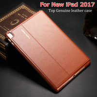 Newest Top Quality Genuine Leather Protective Case For Ipad Pro 9 7 For Ipad Air3 Smart