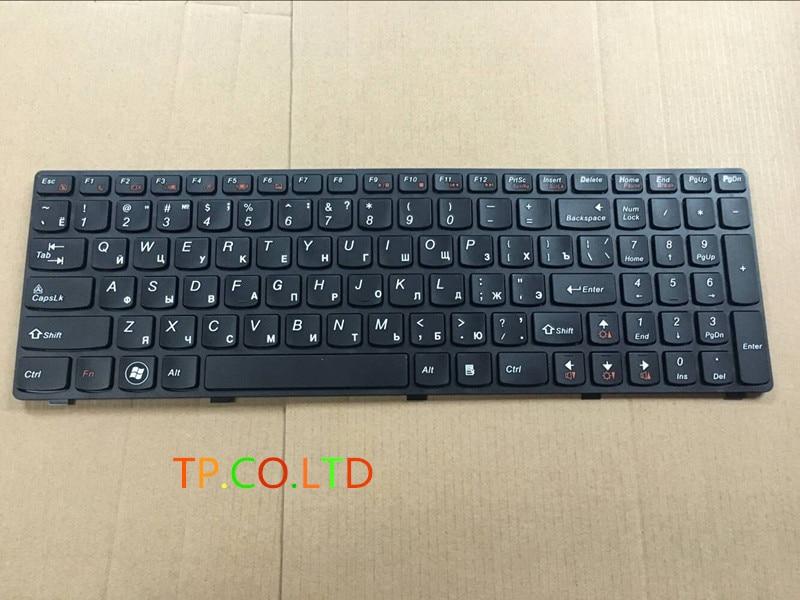 New RU Keyboard FOR Lenovo Y500 Y500N Y510P Y500NT BLACK Laptop Keyboard Russian Layout