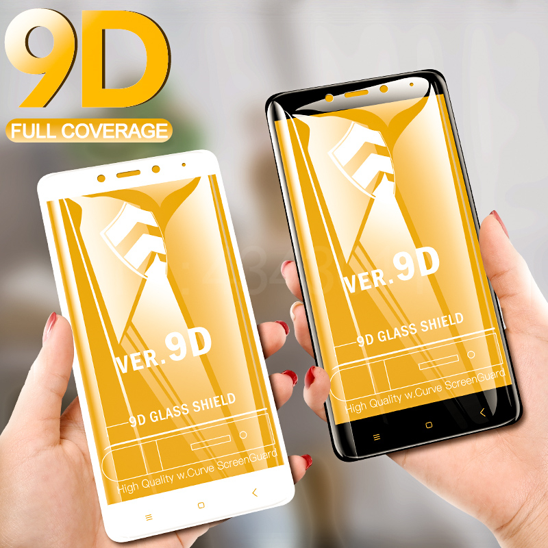 FlanaGan <font><b>9D</b></font> Tempered Glass For <font><b>Xiaomi</b></font> <font><b>Redmi</b></font> Note 4 Note <font><b>4X</b></font> Screen Protector For <font><b>Redmi</b></font> Note <font><b>4X</b></font> Note 4 Global Version Glass Film image