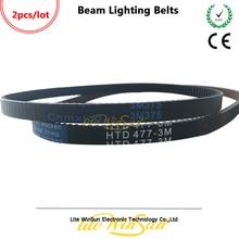 Litewinsune Beam Lighting เข็มขัด 375 3 เมตร HTD 477 3 เมตร Pan Tilt เข็มขัดสำหรับ Beam 7R Beam 5R Stage Lighting