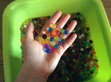 15mm Water Beads. 10000pcs=100g Orbeez.Water Beads gun Bio Gel Ball.water paintball.Magic Jelly Balls d22