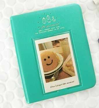 64 Pockets Polaroid Photo Album Mini Instant Picture Case Storage For Fujifilm Instax Mini Film 8  Korea Instax Album Fotografia