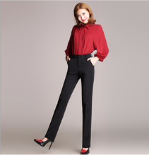 TUHAO Plus Size 4XL 3XL Formal Black Pants for Woman 2018 Spring Summer Women's Suit OL Pants Office Ladies Work Trendy Trousers