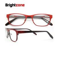2017 nueva fábrica directa envío gratis prevalentes rojo mujeres Acero inoxidable oculares marcos con primavera bisagra gafas B50212