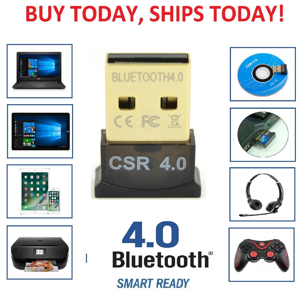 Mini Wireless USB BT4.0 Adapter Dongle For PC Laptop Win XP Vista7// 8//10 #a