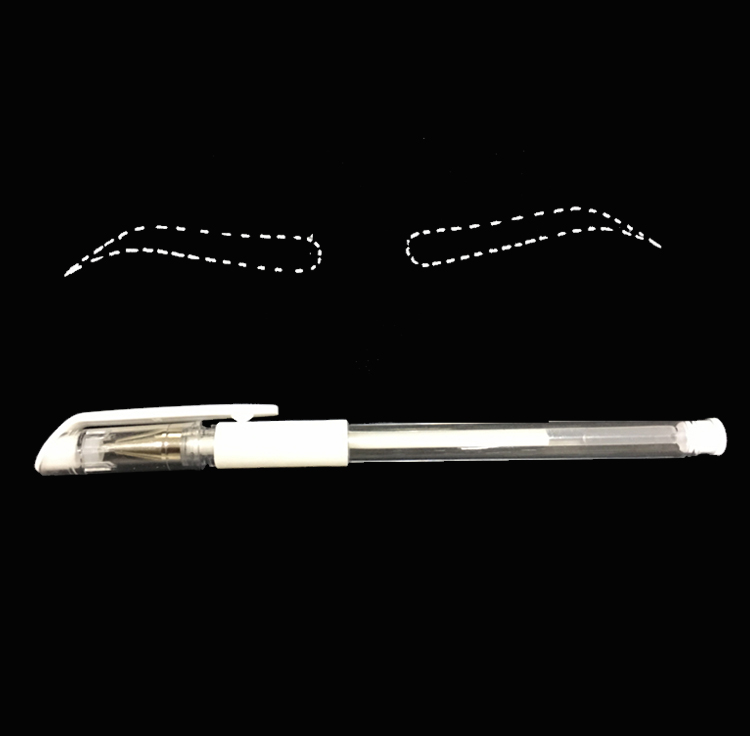 Eyebrow Marker Pen Tattoo Accessories New Products Microblading Tattoo Surgical Skin Marker Pen for Permanent Make up Supplies