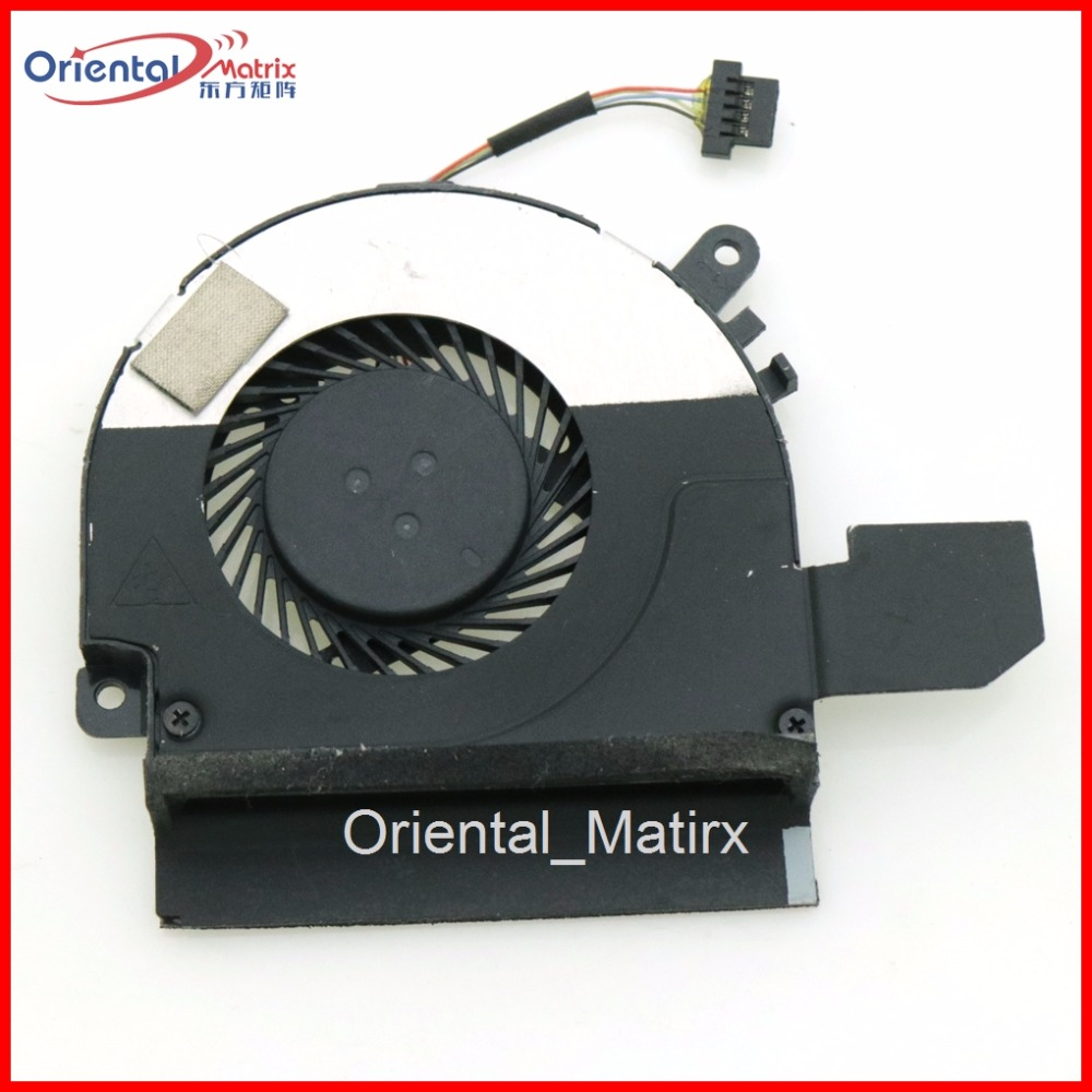 Free Shipping New Cooler Cooling Fan DC5V 4Pin For Dell UltraBook 12.5 XPS 12 KTM0F Laptop CPU Cooler Cooling Fan