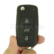 Флип автомобиль дистанционного ключ для Фольксваген Жук Гольф EOS Мужские Поло Sharan 2011 2012 2013 3 кнопки 5K0 837 202 AD ID48 434 мГц remotekey