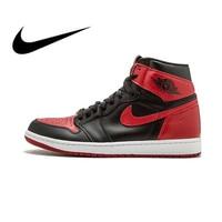 Air Jordan 1 OG Retro Royal AJ1 Authentic Original Brand Nike Men's Basketball Shoes Sneakers Breathable Sports Outdoor 555088